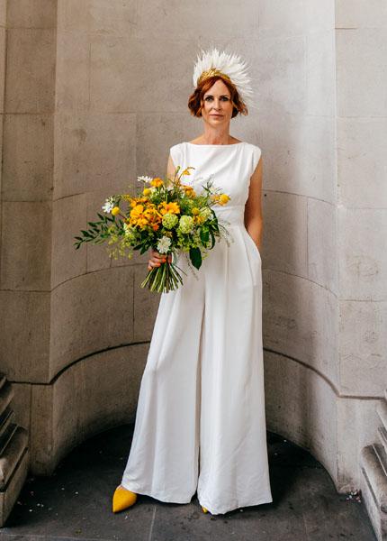 bespoke wedding jumpsuit